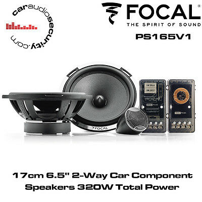 "Focal PS165 17cm 6.5"" 2-Way Car Component Speakers System"
