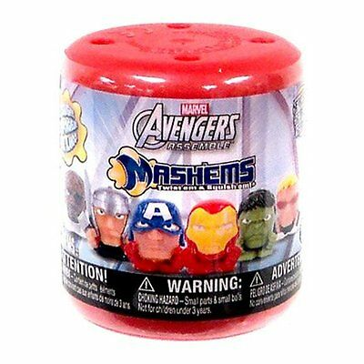 MARVEL AVENGERS Mashems Series 1 Fully Sealed Pick How Many FASHEMS Iron Man