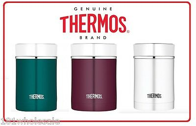 ❤ Thermos STAINLESS STEEL Vacuum Insulated Food Jar Container 470ml 3 Colors ❤