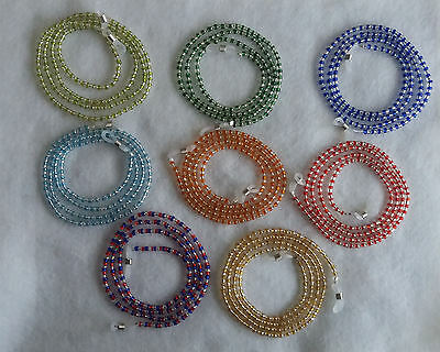 Beaded Glasses Spectacle Chain Cord Holder Lanyard Reading Sunglasses