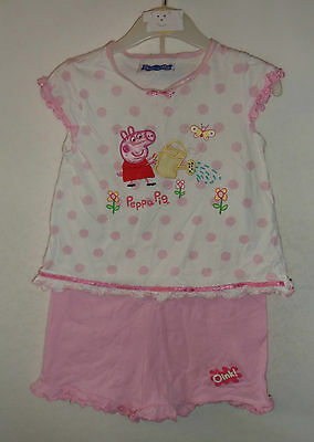 GEORGE Peppa Pig t shirt and pants 2 - 3 years 98 cm playset