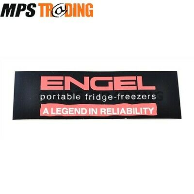 ENGEL PORTABLE FRIDGE-FREEZERS DECAL STICKER 190MM x 60MM