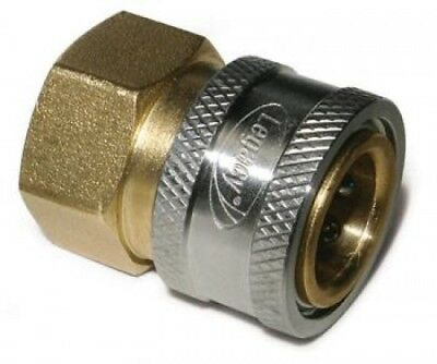 "Legacy 9.802-166.0 Pressure Washer Hose Quick Coupler Socket 3/8"" FPT"