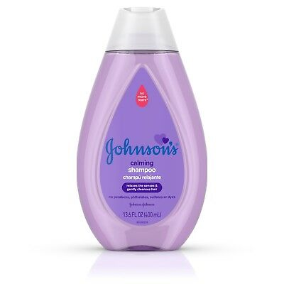 Johnson's Calming Baby Shampoo with NaturalCalm Scent, 13.6 fl. oz