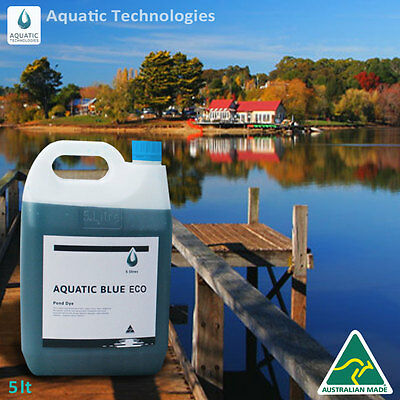 Aquatic Blue Eco Pond Dye 5 litre - Colourant for any body of water