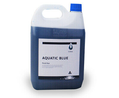 Aquatic Blue Pond Dye 5 Litre - Aquatic Weed & Algae Growth Suppressant