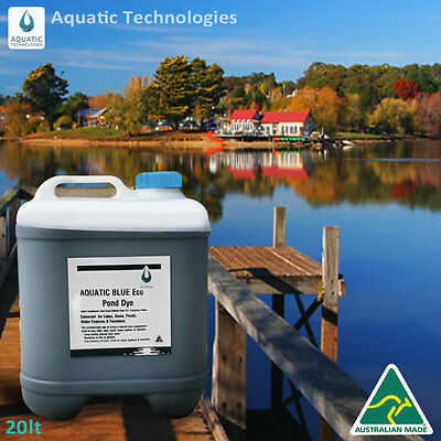 Aquatic Blue Eco Pond Dye 20 litre - Colourant for any body of water