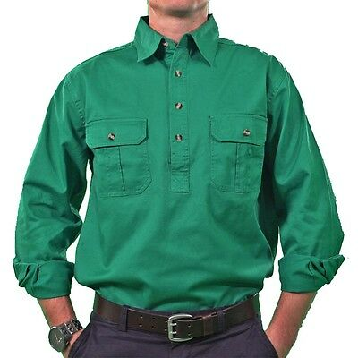 Lasso Closed Front work shirt