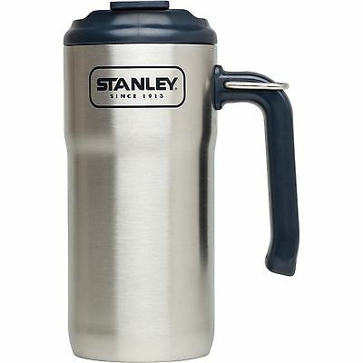 Stanley Adventure Outdoor Vacuum Insulated Travel Mug, 0.47L, Stainless Steel