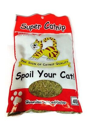 Catnip Granules Natural Grown 40 grams Cat Kitten Kunduchi Green Grains