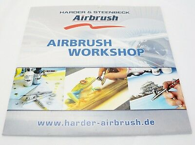 Harder and Steenbeck Airbrush Workshop technique DVD. Learn how to airbrush! NEW