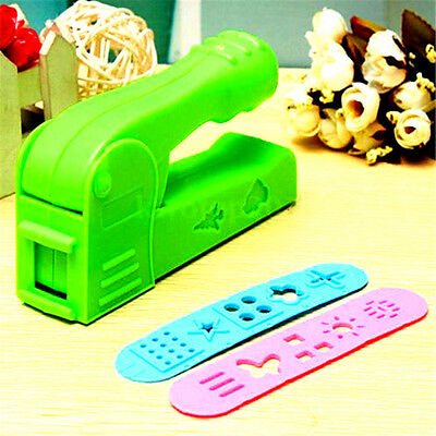 Helpful Dough Plasticine Craft Clay Extrusion Mold Tool Set Kids Learn Play Toy