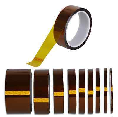 5mm-100mm x 30M Kapton Tape High Temperature Heat Resistant Polyimide