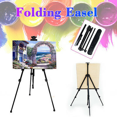 Adjustable Art Artist Painting Easel Stand Tripod Display Drawing Board Sketch