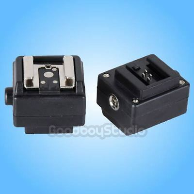 S-CN Hot Shoe Converter Adapter for Canon Nikon Flash to Sony Minolta Camera