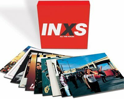 INXS All The Voices 180gm vinyl 10 LP box set + download  NEW/SEALED