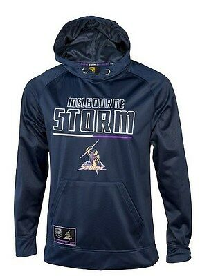 Melbourne Storm 2016 NRL Mens Polyester Hoodie 'Select Size' S-5XL BNWT