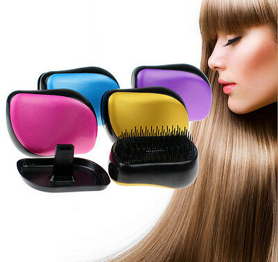 Professional Massage Portable Anti-static Hair Detangling Styling Comb Brush New
