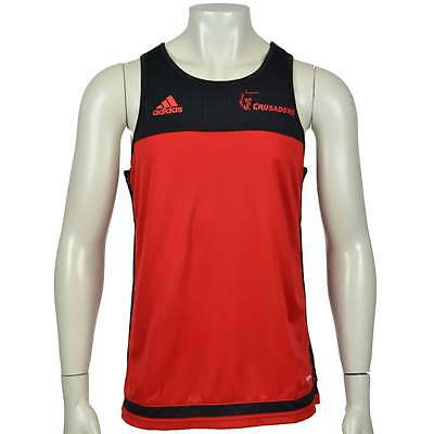 Adidas Crusaders Singlet Red and Black