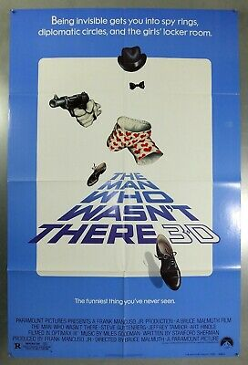 The Man Who Wasn't There - Steve Guttenberg - Original Usa 1Sht Movie Poster