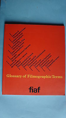 (R10_7_04) Jon Gartenberg - Glossary of Filmographic Terms 1989 (Multilingual)