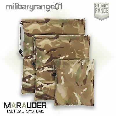 Marauder Stash Sack - S/M/L sizes - British MTP Multicam -Waterproof p/u coated