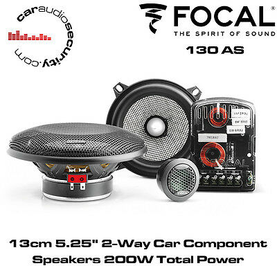 "Focal 130AS 13cm 5.25"" 2-Way Car Component Speakers System"