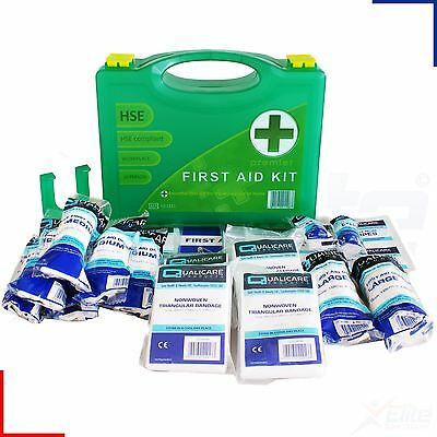 10 Person HSE Premium First Aid Kit Workplace, Office, Home Medical Emergency