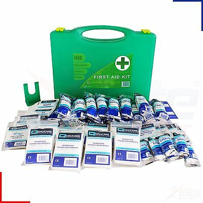 50 Person HSE Premium First Aid Kit Workplace, Office, Home Medical Emergency