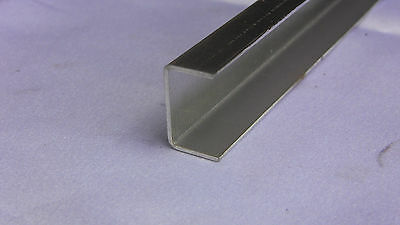Aluminum Fabricated Channel .050 x .625 x .75 x .625 x 48 in. (1x1) UAAC (4pcs)