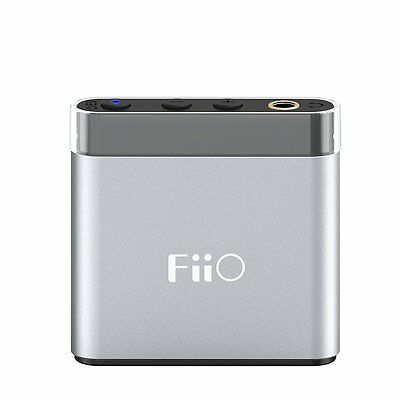 FiiO A1 Portable Headphone Amplifier w/ Bass Boost Micro to USB & 3.5mm Cables