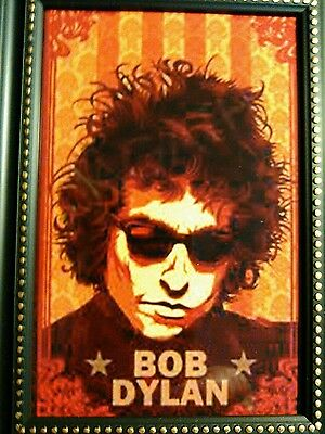 Bob Dylan small new  5 1/2''x7 1/2'' frame 6x4 photo free shipping