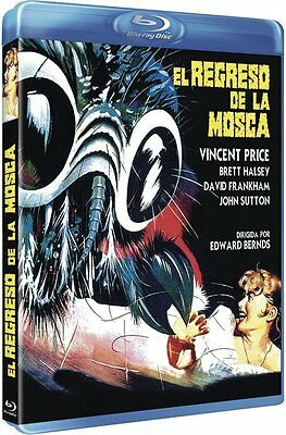 Return of the Fly [1959] (Blu-ray)~~~~Vincent Price~~~~NEW & SEALED