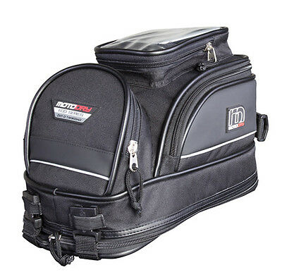 MotoDry Expandable Super Mini Tank Bag ZXT-3 Backpack Motorbike Motorcycle