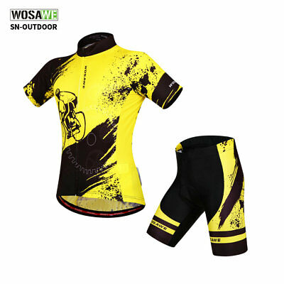Cycling Bike Short Sleeve Clothing Bicycle Sports Wear Set / Jersey/Shorts S-XXL