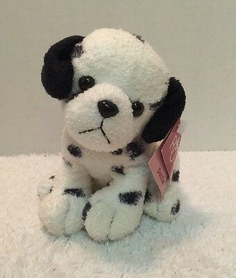 "Russ Berrie Luv Pet ""Dottie"" Puppy Dog 6"" Plush Stuffed Animal w Tags EXC"