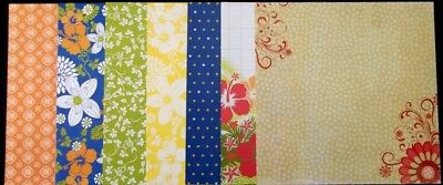 """ASSORTED PATTERNED Scrapbooking/Cardmaking Papers  x 14 *30cm x 30cm (12"""" x 12"""")"""
