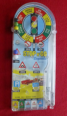 Vintage MARX Stop N Go Bagatelle Game with Box