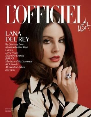 Lana Del Rey - L'officiel Usa Magazine February March 2018 - First Issue - New
