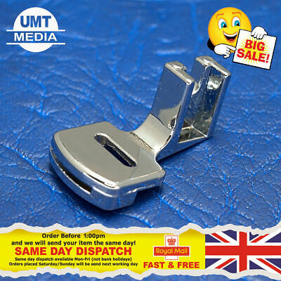 Double Gathering Foot - Shearing For Domestic Sewing Machines Snap on Presser UK