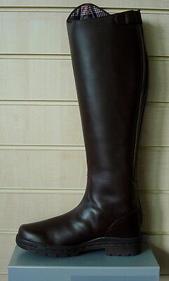 Mark Todd Milestone Tall Leather Riding Boot Brown RRP £134.50