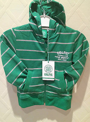 Celtic Fc child's hoddie winter sale price marked £22 from £10 free posting UK.