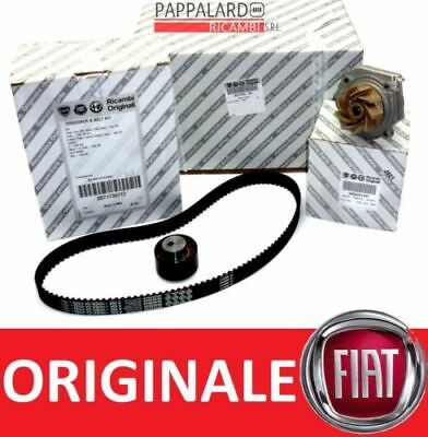 KIT DISTRIBUZIONE + POMPA ACQUA ORIGINALE FIAT PANDA (169) 1.2 1.4 Natural Power