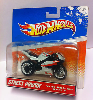 Hot Wheels 1:18 Street Power Motorrad *Race Bike* NEU / OVP