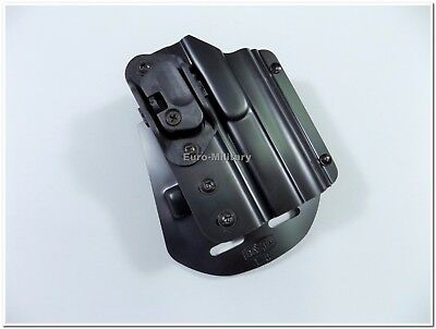 Original Czech Police CZ 75 P-07 Duty Paddle Holster with Automatic Safety Lock