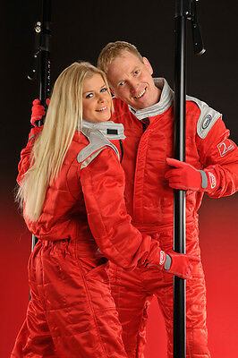 Speed Rennsport Overall Level 2 - Rot - CIK FIA Approved Racing Suit - Kart