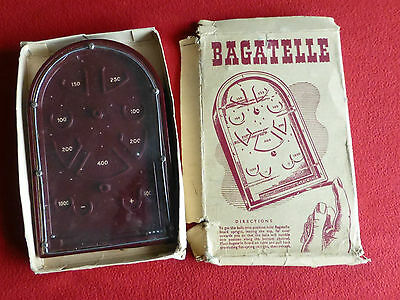 Vintage Plastic Small Table Top Bagatelle