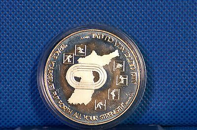 Israel 1987 Seoul Olympic Games 1988 State Medal Sterling Silver