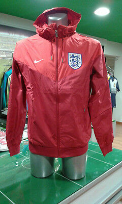 Giacca Vento Calcio Jacket Windrunner Authentic Nike Inghilterra England Euro 16