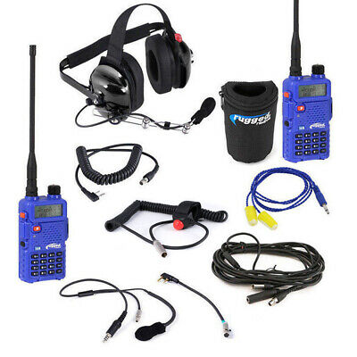 IMSA Communications Rugged Radios Racing System w / RH-5R Driver to Spotter
